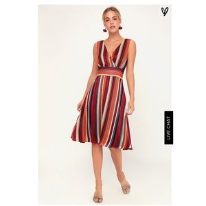 Make My Dreams Come True Lulu's Striped dress